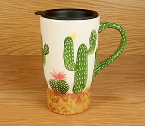 Fort Collins Cactus Travel Mug