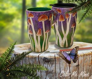 Fort Collins Mushroom Mugs