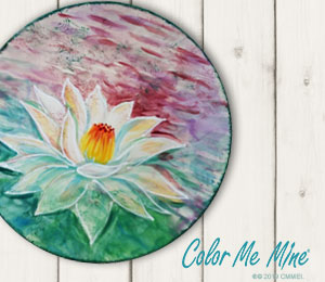 Fort Collins Lotus Flower Plate