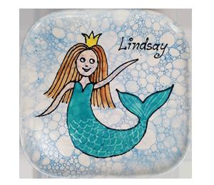 Fort Collins Mermaid Plate