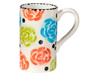 Fort Collins Simple Floral Mug
