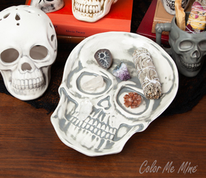 Fort Collins Vintage Skull Plate