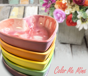 Fort Collins Candy Heart Bowls