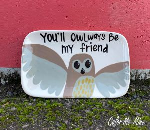 Fort Collins Owl Plate