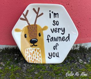 Fort Collins Fawn Plate