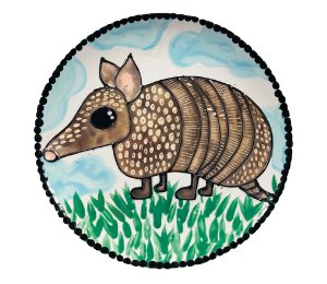 Fort Collins Armadillo Plate