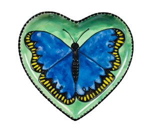 Fort Collins Butterfly Plate