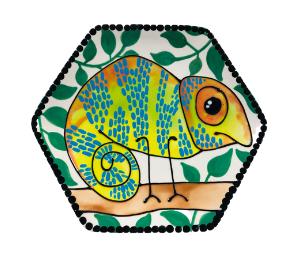 Fort Collins Chameleon Plate