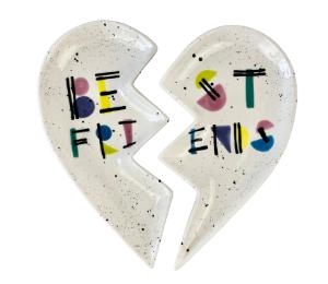 Fort Collins Best Friends Plate Set