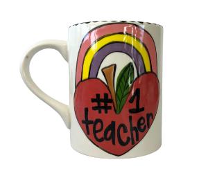 Fort Collins Rainbow Apple Mug