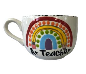 Fort Collins Polka Dot Rainbow Mug